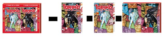 Coffret cadre Toriko