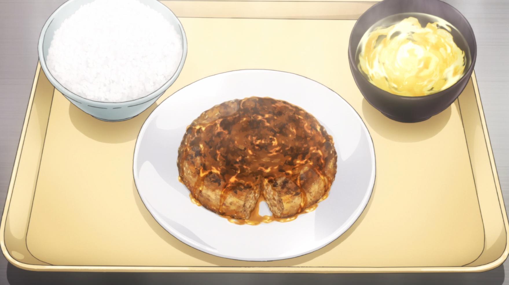 [FOOD WARS] Recette N°3  Maque,Burger Vite Fait du Yukihara