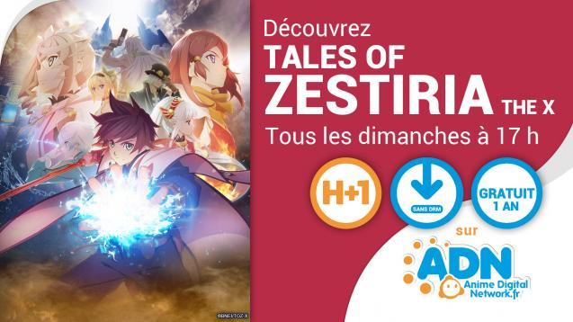 [NEWS] La Légende de Tales of Zestiria the X se dévoile sur ADN !