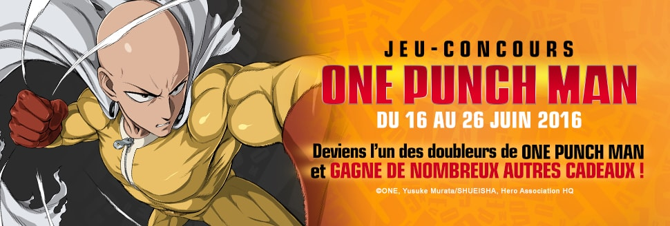 Jeu-Concours One Punch Man